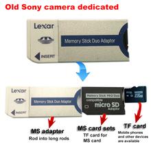 New Newest Memory Stick Pro Duo Card Adapter + MS Pro Duo Adapter +16GB 16G TF CARD  Flash Memory Card for Sony(China (Mainland))