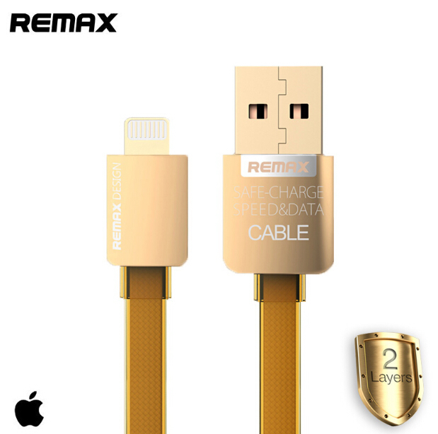 2015 New REMAX High Quality Remax Original 1M USB Data Sync Charging Cable For IPhone 5 5s 6 6plus /ios8 Speed Charging Cable(China (Mainland))