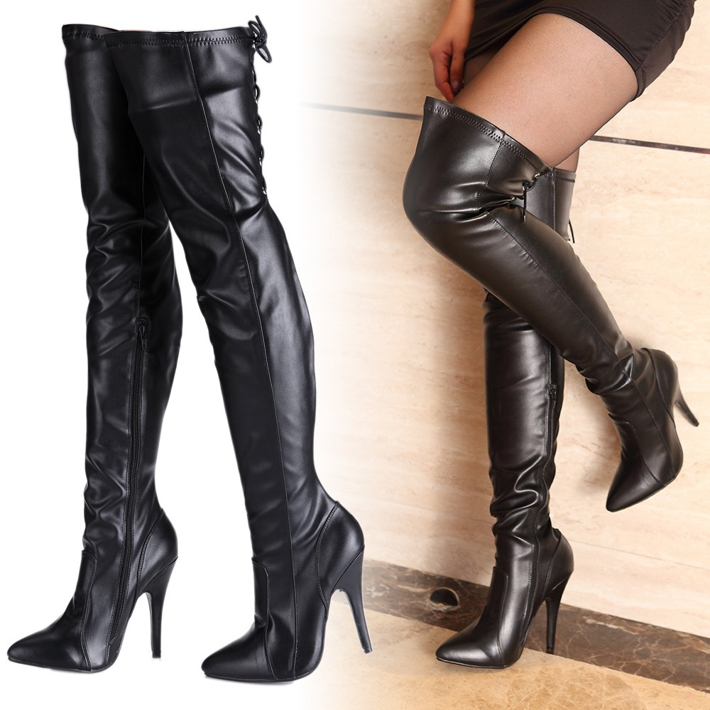 cheap over the knee high heel boots | Gommap Blog