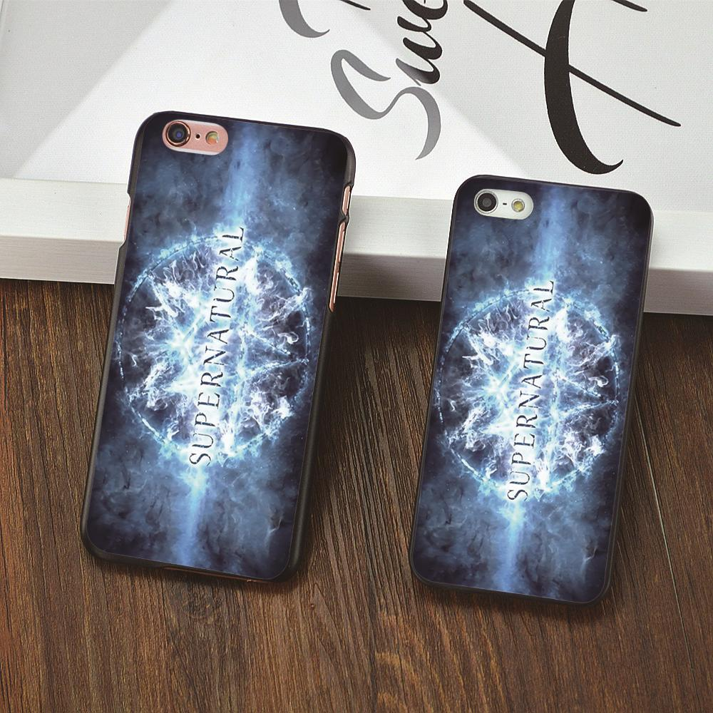 FUNNY SUPERNATURAL COLLAGE ART White phone cover Hard shell case For Apple iphone 6 6s plus 5S 5C 5 4 4s