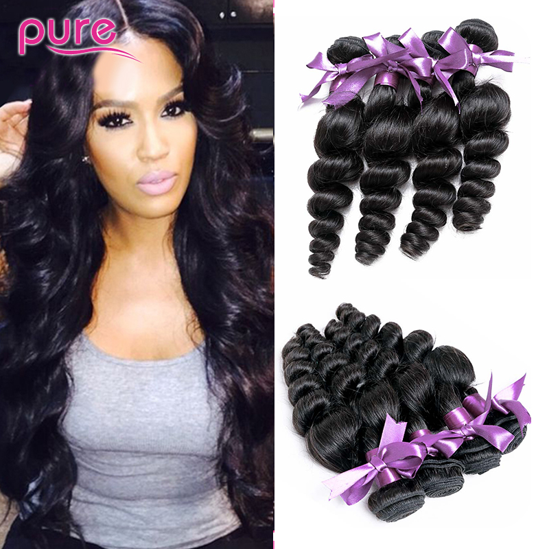 Mongolian loose wave virgin hair 4 boundles Mongolian virgin hair unprocessed virgin hair more wavy loose curly virgin hair<br><br>Aliexpress