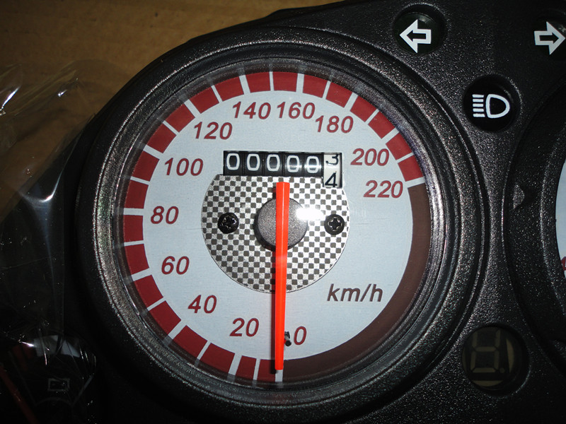 R1R2 horizon car parts mechanical instruments tachometer new Ling(China (Mainland))