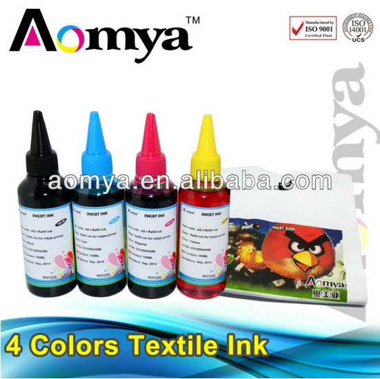 Wholesales 4 colors Specialized Textile ink (Pigment Based)for all Epson printers suit for 4 colors Digital Textile printers.<br><br>Aliexpress