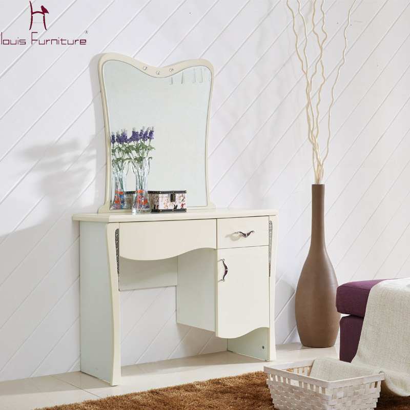 Compare prices on dressing table white online shopping for Simple dressing table