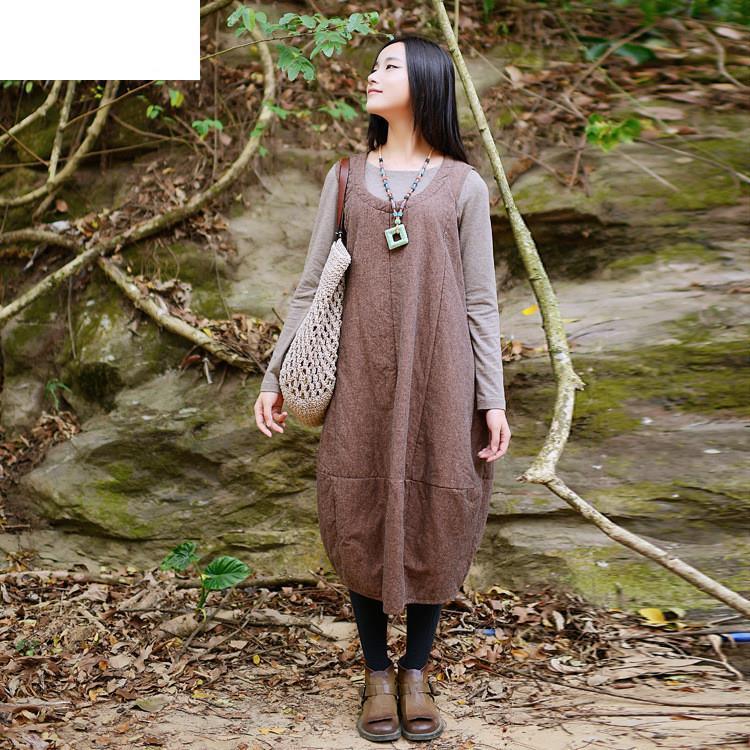 Женское платье Sundress 2015 Cotton Linen