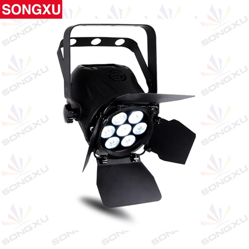SONGXU LED Par Light 7x10w Mini Power Par LED Light RGBW DMX Plastic Par Cans Stage Lighting/SX-PL0710(China (Mainland))
