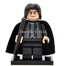 Harry Potter Minifigures Single Sale Professor Snape Fantasy Literature Novels Building Blocks Sets Models Figures Bricks Toys