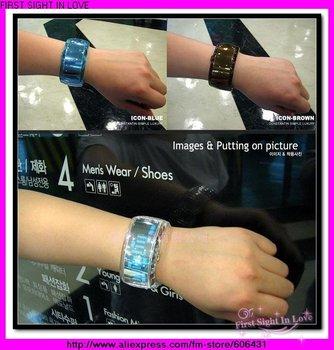 Fast delivery ODM bracelet watch LED Watch digital jelly watch Lady Lover Fashion high quality multi-color wrist Watch 37pcs/lot