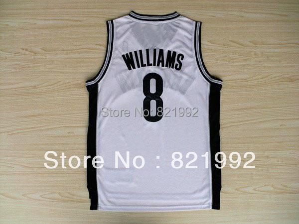 Basketball jerseys Embroidery Logos #8 Deron ,