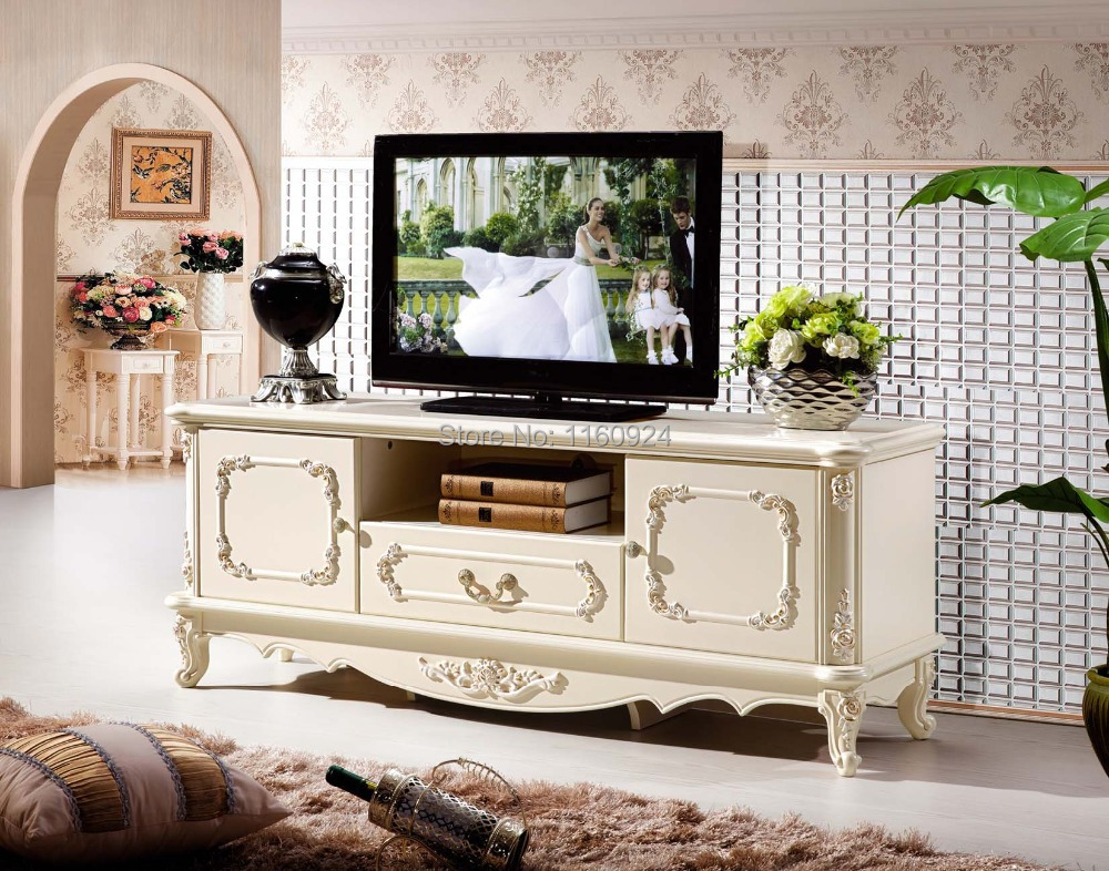 Luxury Living Room Furniture Fashionable TV Stand In Wood Furniture Sets Fro