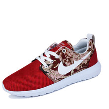 2015 Fashion new walking mens trainers breathable shoes Floral Mesh men women shoes Outdoor casual lovers zapatos Plus size(China (Mainland))