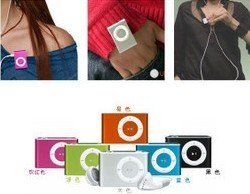 Wholesale&Retail Portable Music Mp3 clip player+ Free Shipping(all country)