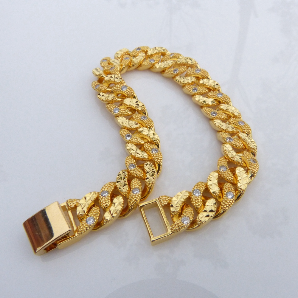 Luxury Mens Gold Bracelets