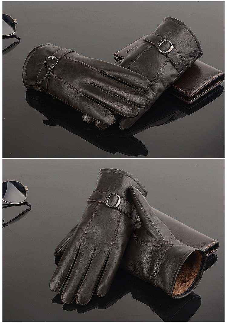 Man Leather Gloves (3)