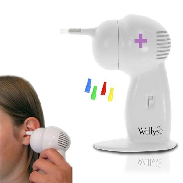 Hot Sale Cordless Vacuum Ear Cleaning Tool for Ear Care kulak temizleme vakumu Electronic Wax Vac Ear Cleaner(China (Mainland))