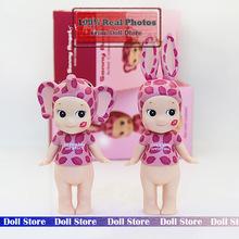 2 unids/set 12 cm Sonny ángel beso marcar leopardo PVC Action Figure set colección modelo de juguete mejores juguetes para niños para las muchachas