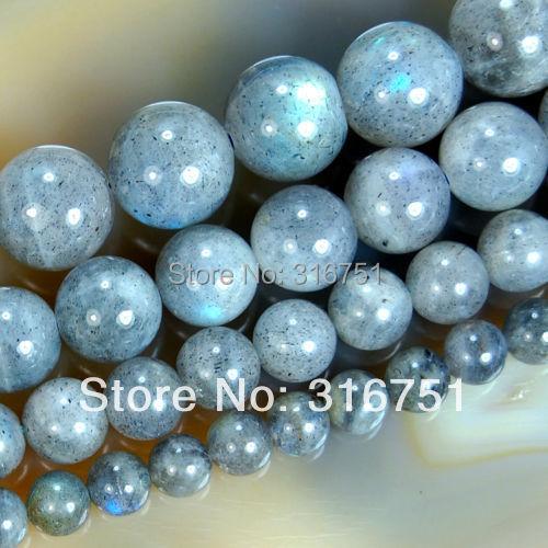 "6 8 10 12mm Natural Labradorite Round Beads 15.5inch/strand Pick Size -f00120 Aa - ""beads love""No minimum order store"