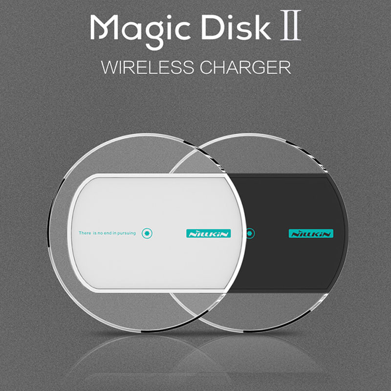 2015 Newest Nillkin Magic Disk 2 Qi Wireless Charger Charging Pad LG Nexus 5 6 G3 Nokia Lumia 930 - ZYH e-Digital Store store