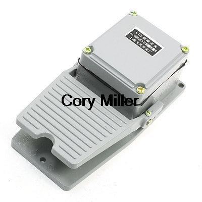 Gray Nonslip Momentary Foot Pedal Treadle Switch AC 380V 5A SPDT NO NC<br><br>Aliexpress