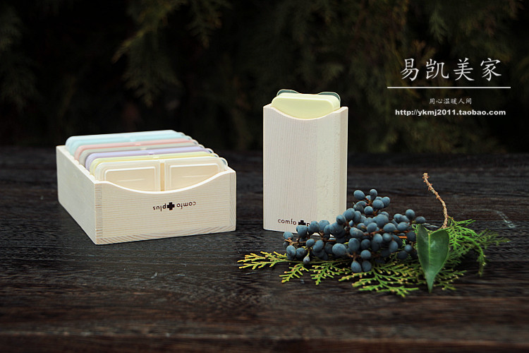 Foreign trade export Japan wood set of plastic boxes Convenient paragraphs portable 7 workers the elderly<br><br>Aliexpress
