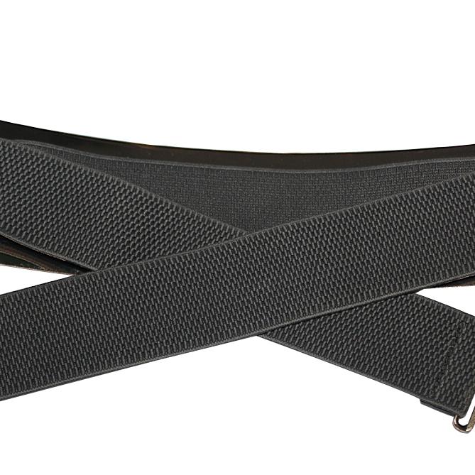 5x Gray Chic Metal Buckle Elastic Waist Belt For Women(China (Mainland))