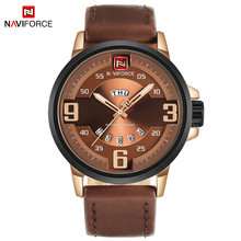 Buy NAVIFORCE TOP Luxury Brand Men Sports Watches Men's Quartz Date Clock Male Leather Army Military Wrist Watch Relogio Masculino for $15.47 in AliExpress store