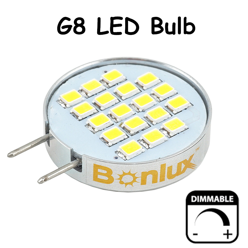 Dimmable LED G8 Bulb Light 3.5 Watts 180 Degree Beam Angle G8 Cabinet Light with 30 Watts Halogen Replacement(China (Mainland))