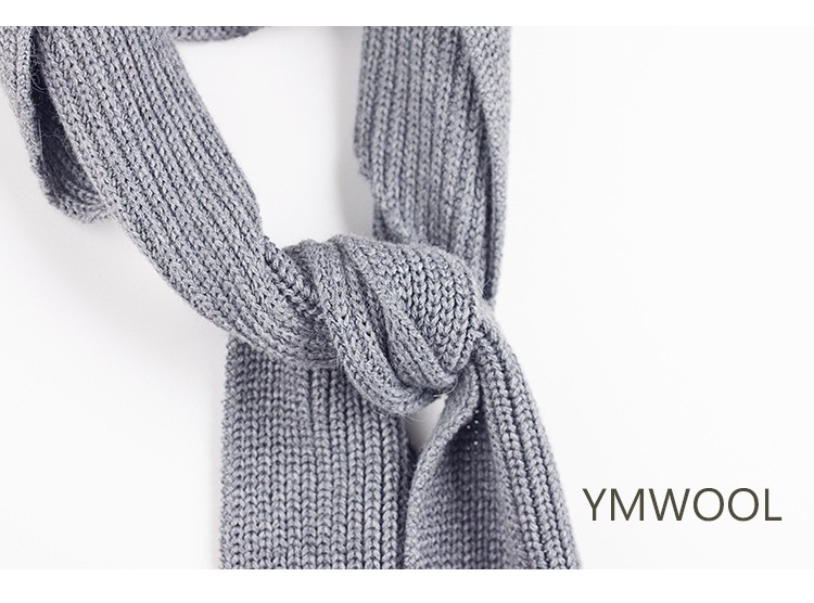 Europe New Design Hot Sale Fashion Knitted Warm Shawl Autumn And Winter Cotton Scarf Dual-use Decorative Hat Wild Thicken Scarf