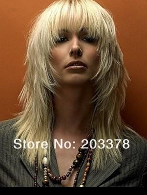 New Arrivals Long Blonde wig  free shipping