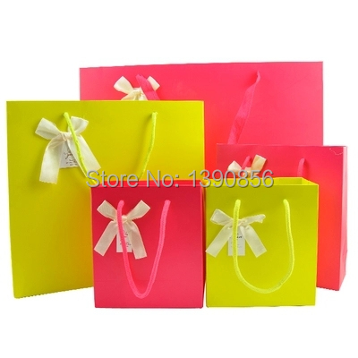 small paper bags with handles bulk
