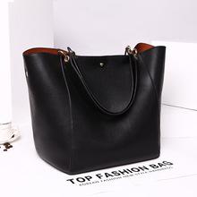 Women's Fashion Shoulder Bag Genuine Leather Tote Bag High Capacity Traveling Bag Hot Sale Cowhide Messenger Bag Set