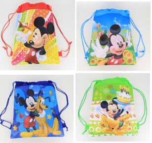 2015school bags kids cartoon drawstring backpack& bag For kids bag back to school mochila infantil-5