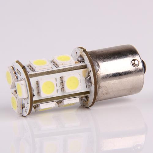 1156 R10W BA15S 245 P21W 13 LED 5050 SMD White Car Tail Turn Signal Light Bulb