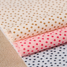 Half Meter Printed 100%Cotton Prints Fabric DIY handmade Cloth Bedding Patchwork Textile For Decorative Sewing Material Tissue(China (Mainland))