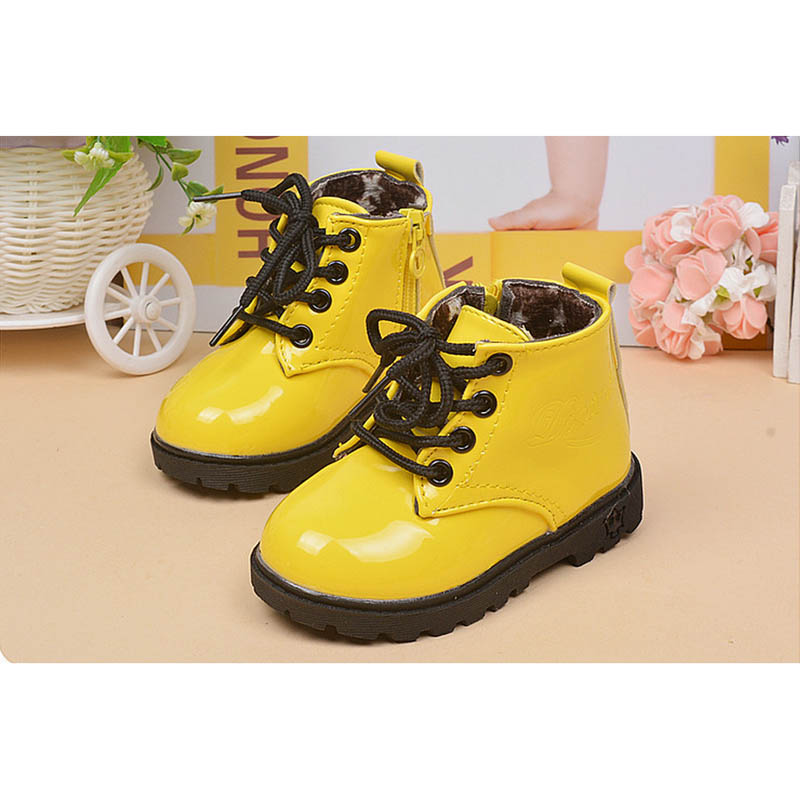 2017 spring autumn winter new fashion children baby kids shoes fur girls boys sneakers Martin boots in stock