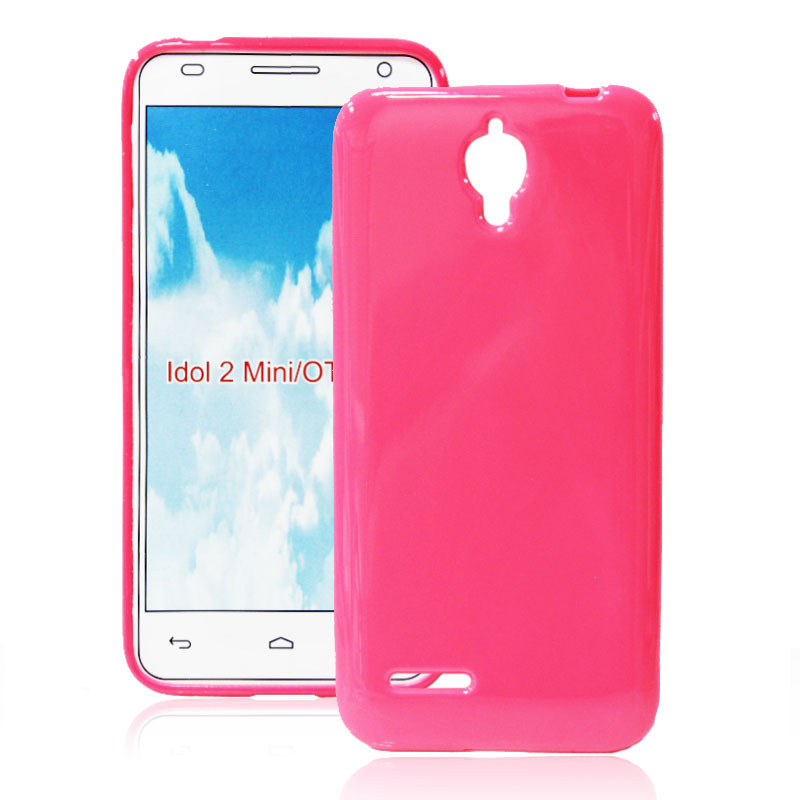 Alcatel One Touch Idol 2 Mini 6016 Fashion Solid Color Soft TPU Gel Case Cover 6016X - Guangzhou Chnlan Trading Co.,Ltd store