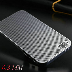 Mesh Aluminum Hard Case iPhone 5 5S 5G iPhone5 Titanium Steel Grid Metal Back Cover Luxury 8 Colors, 10 Pcs/lot - artisome Official Store store
