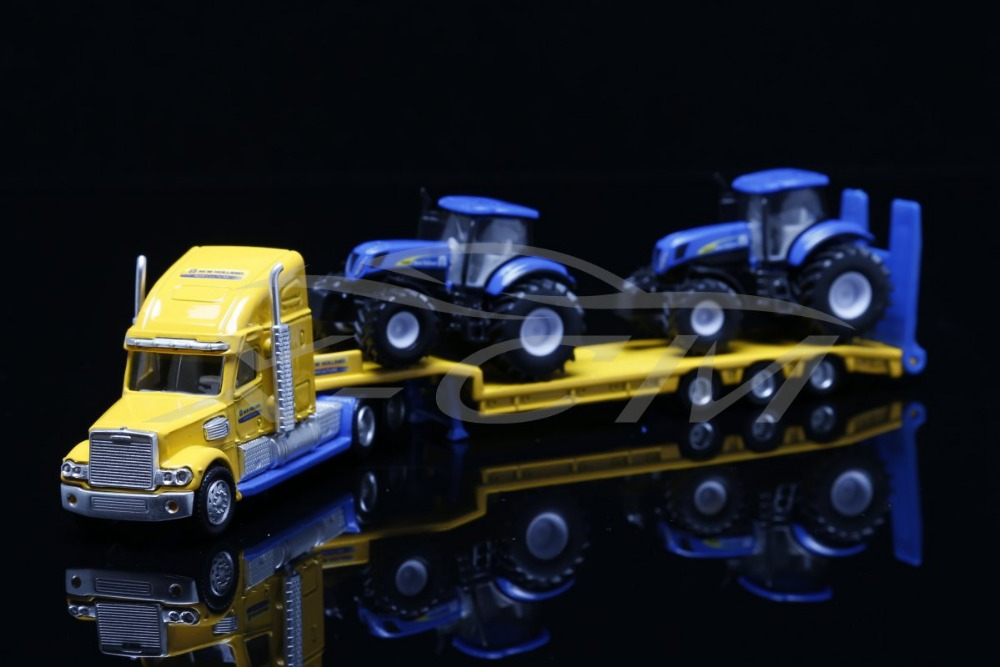 Toy Model Siku Truck with Tractors 1:87 Metal & Plastic Parts + SMALL GIFT!!!!!!(China (Mainland))