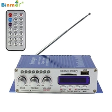 Buy Hot Selling!2017 New Amplifier 2CH 200W Power Mini HiFi Audio Stereo AMP Amplifier ipod Car Home MP3 FM BL Mar30 for $14.98 in AliExpress store