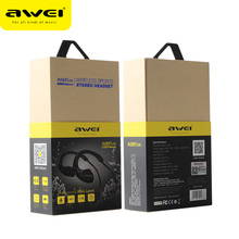 Awei A880BL Smart Wireless Sport Earphone Bluetooth 4.0 Sports Stereo In-ear Voice control Noise Reduction Mic - Shenzhen Oceanship Groups Co., Ltd Store store