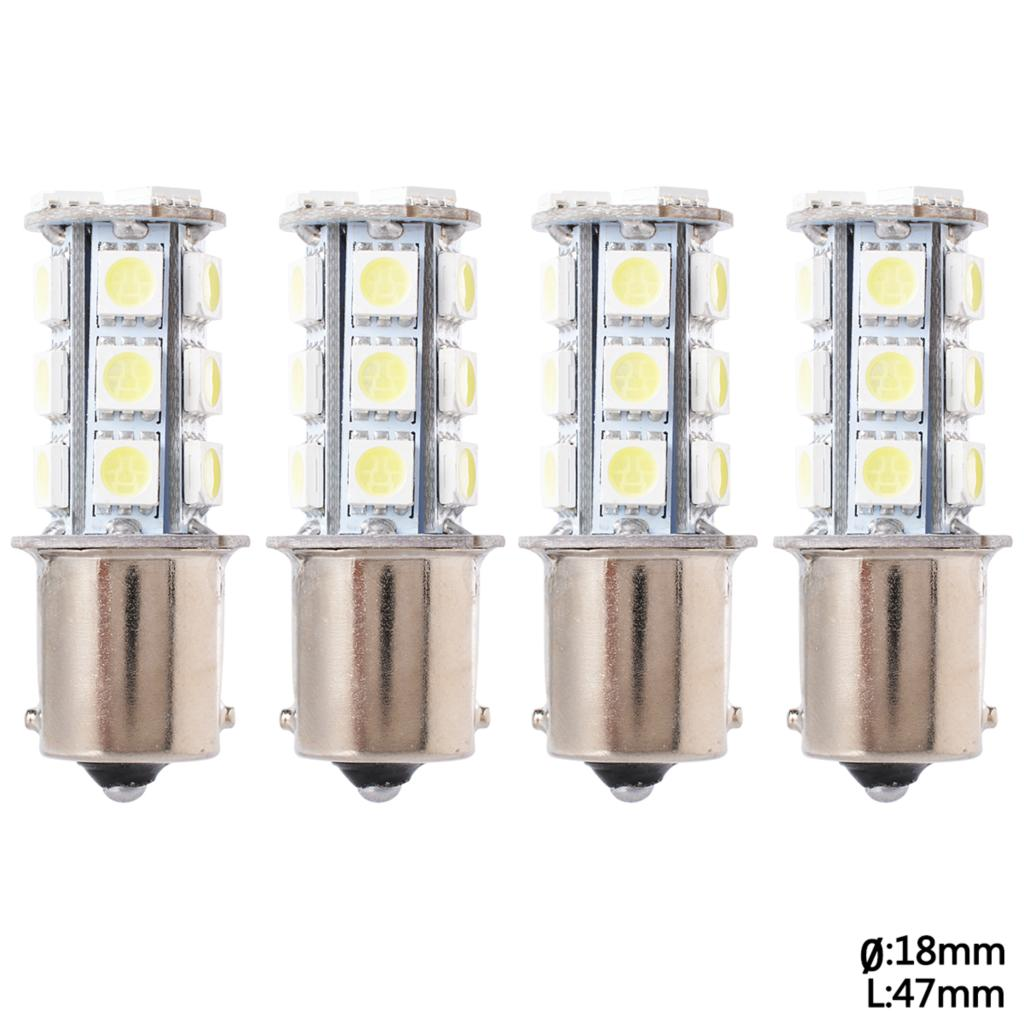 4pcs led car 1156 5050SMD 18 LED 12V Tail lights Turn signal /Brake Reverse Signal/ parking Light Bulb Free shipping MA130+(China (Mainland))