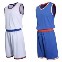 2016 new basketball jersey sport training set sportswear can be printed name number college team custom blank jersey set 5XL(China (Mainland))