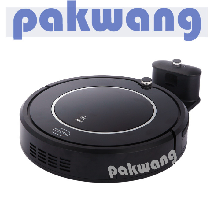 Wireless Smart Robot Vacuum Cleaner for All Kinds of Floor Big Suction Power Mop UV Lamp 2 Side Brush Virtual Wall Self Recharge(China (Mainland))