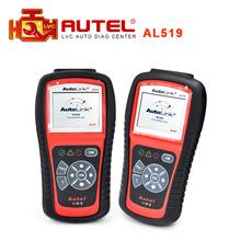 Best Quality 100% Original Auto diagnostic Code Reader Autel AutoLink AL519 OBD II & CAN Scan Tool Original DHL Free Shipping(China (Mainland))