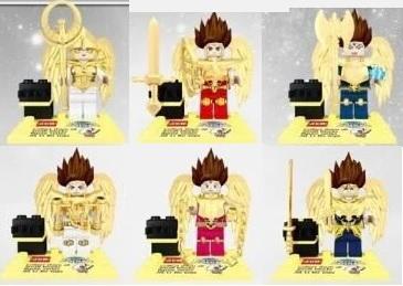 DHL Wholesale 80Lot Blocks Super Heroes Avengers 2 Minifigures Justice League Saint Seiya The Lost Canvas Bricks Mini figure Toy(China (Mainland))