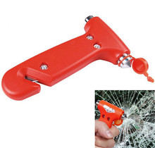 2 in 1 Car Emergency Safety Escape Hammer Tool Blade Cutter Window Glass Breaker Engineering Plastics Metal(China (Mainland))