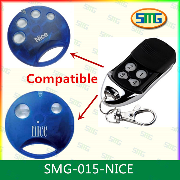 NICE SMILO Compatible remote duplicator 433.92Mhz Rolling Code(China (Mainland))