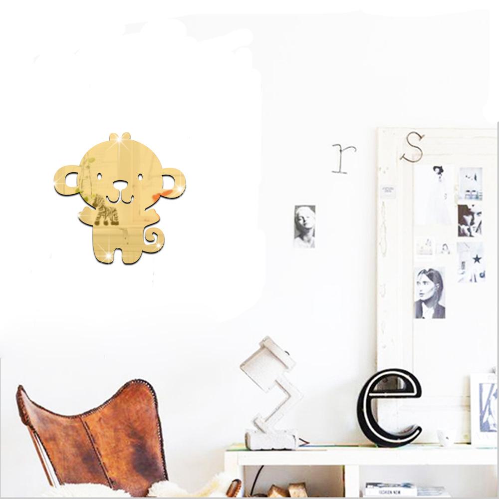 Singe mur papier promotion achetez des singe mur papier for Papier miroir autocollant