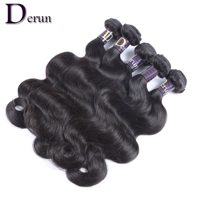 Brazilian Body Wave Price 7A grade Virgin Human Hair Weaves Unprocessed Sales - China Derun Factory store