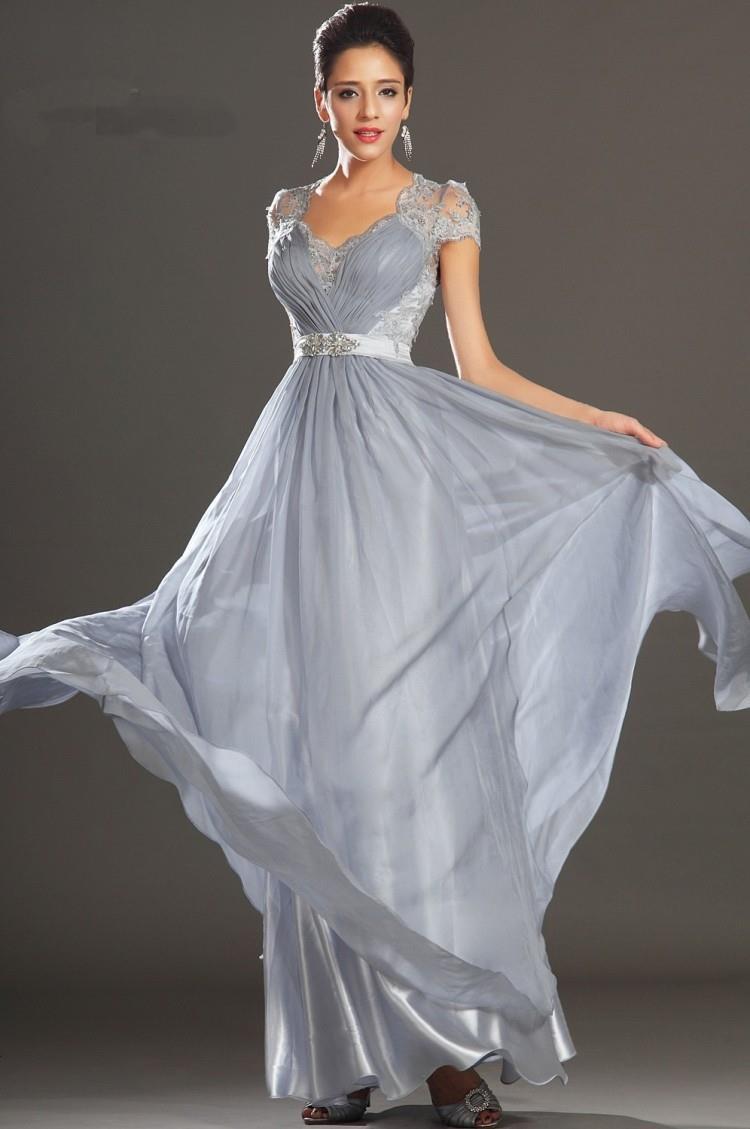 Silver Formal Dresses Plus Size Good Dresses